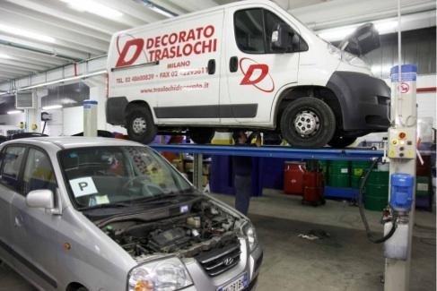 Riparazione veicoli commerciali autofficina Giacometti Torino