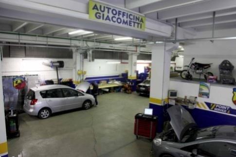 Salone autofficina Giacometti Torino