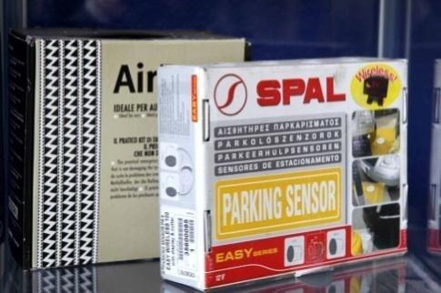 Sensore parcheggio autofficina Giacometti Torino
