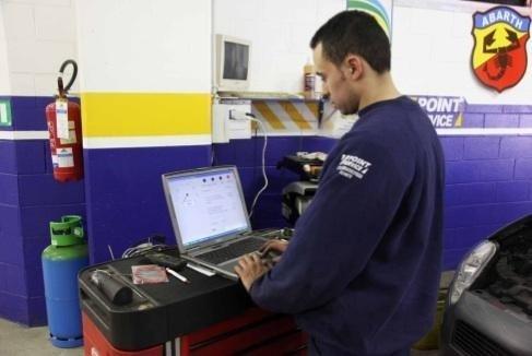 Diagnosi computerizzata automobile autofficina Giacometti Torino
