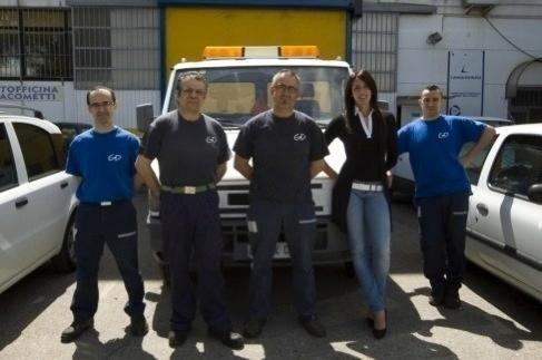 autofficina Giacometti team