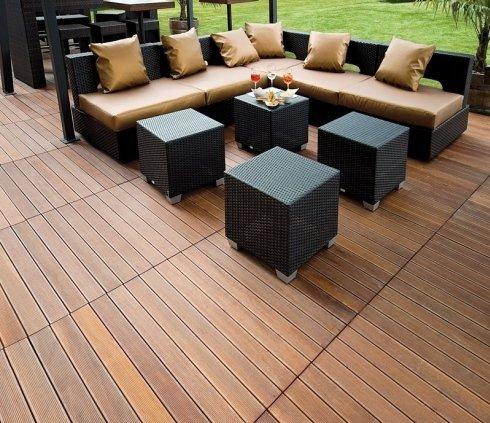 parquet esterni decking, quadrotte legno, parquet ipe