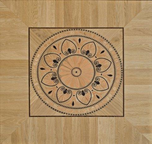 rosone, intarsi su legno, parquet decorati