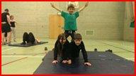 Team building - Cumbria - Entertrain - Circus training