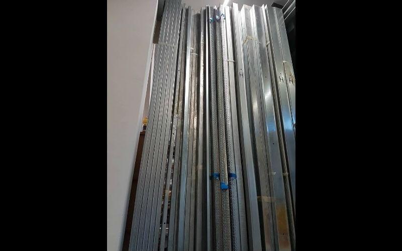 Profili in acciaio zincato