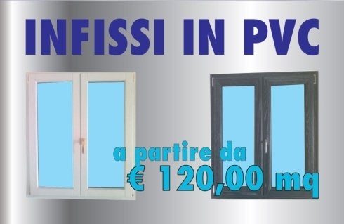 Offerta infissi in PVC