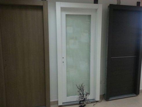 Porte per interni in legno e vetro