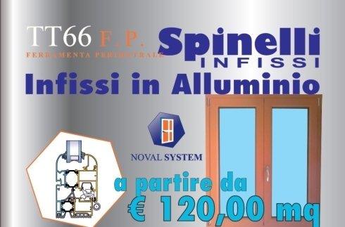 Offerta infissi in alluminio Noval System