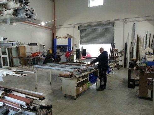 Processo produzione infissi