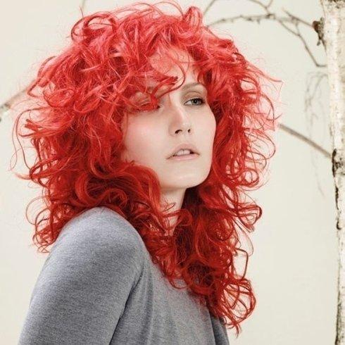 Capelli rosso fuoco