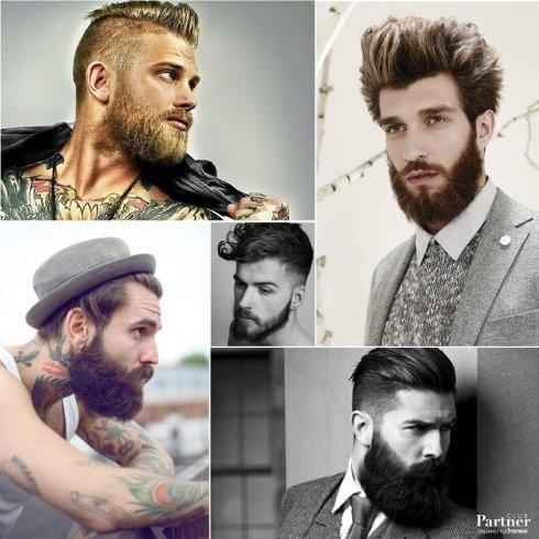 Cinque stili di uomo con barba