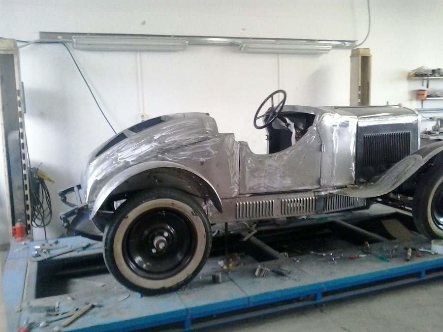 auto d'epoca restauro