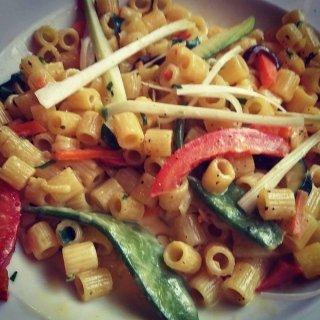 piatto con verdure