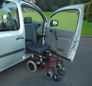 Sedile girevole per disabili