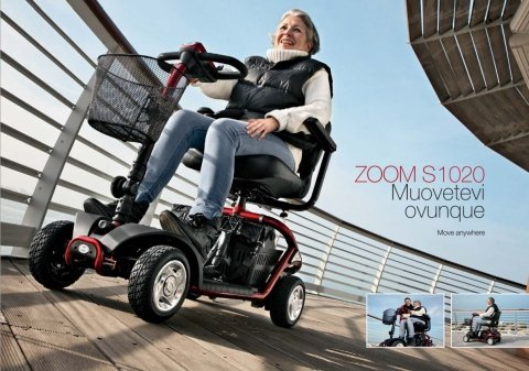 Scooter elettrico per disabili