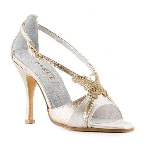 Scarpe aperte colore oro