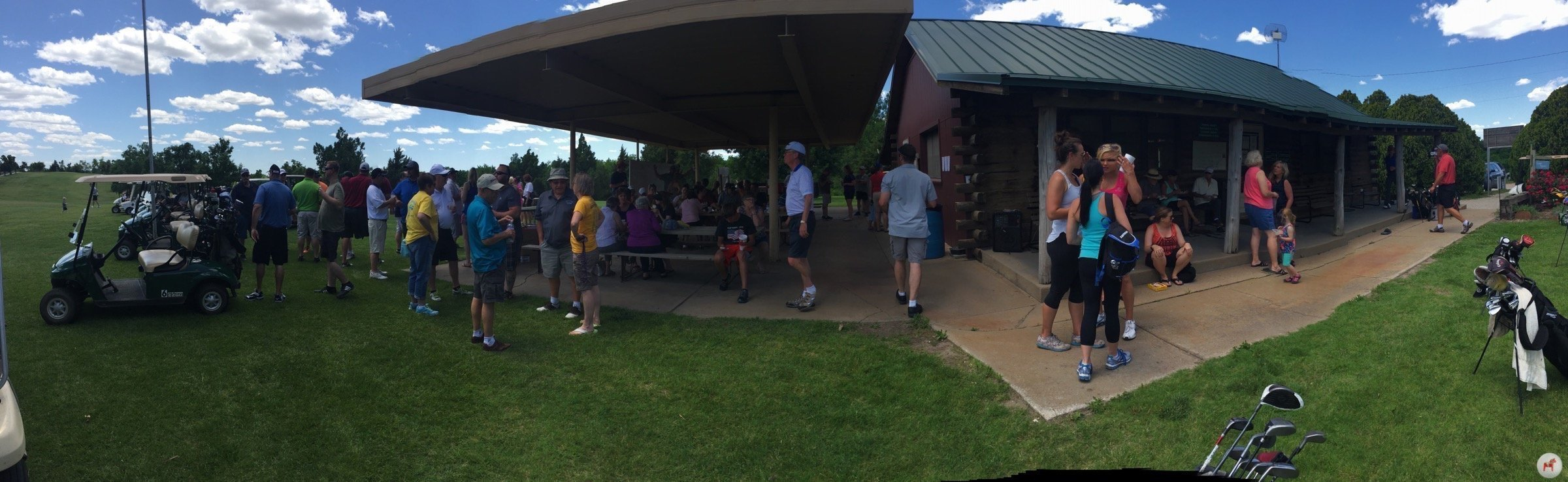 Lindsborg Golf Course Clubhouse_2016 Ol Stuga Tournament