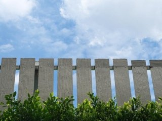 staccionata verticale