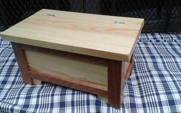 box in legno