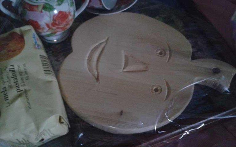 zucca in legno