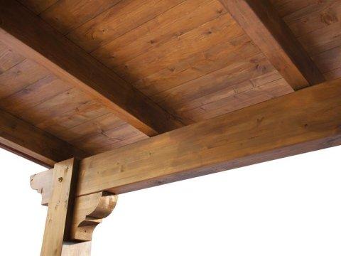 travature in legno massiccio