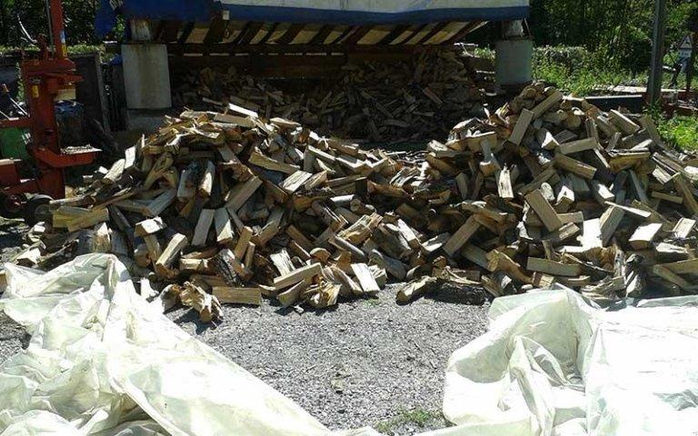 legna bruciatura lenta