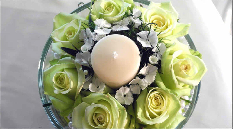 composizione con candela