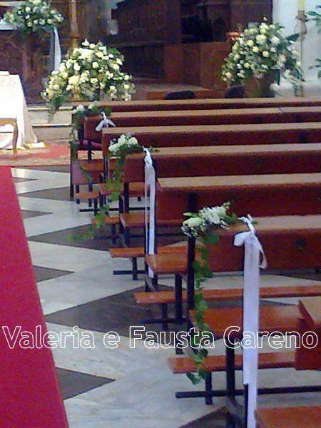 panche in chiesa
