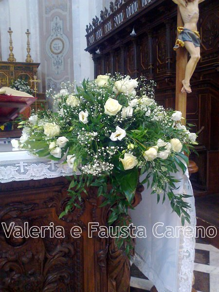 Valeria e Fausta Careno -addobbi floreali