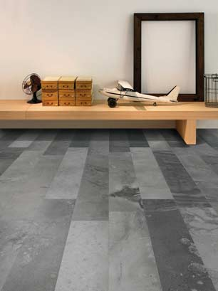 dark grey flooring