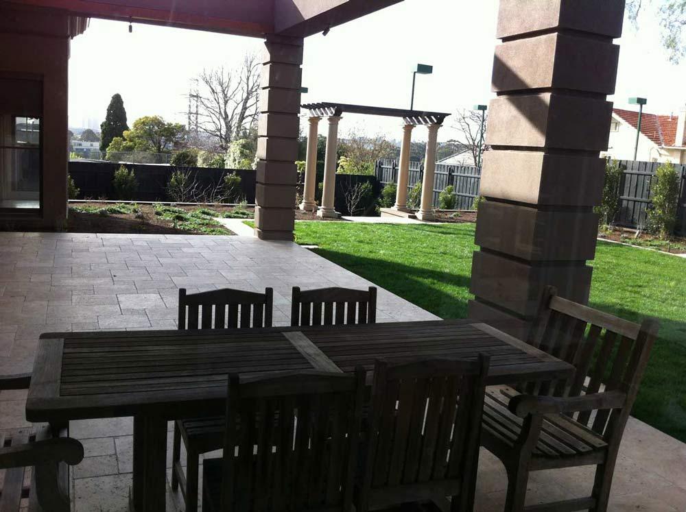 nice patio flooring