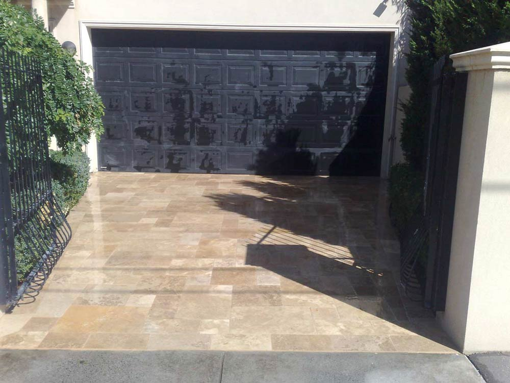 garage port tiling