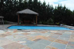mixed pool tiles