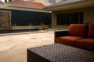 outdoor tan tiling
