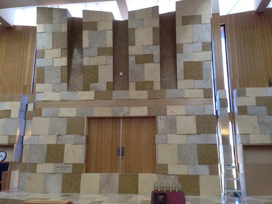 various wall tiling