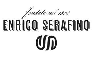 Logo con scritto fondata nel 1878 Enrico Serafino