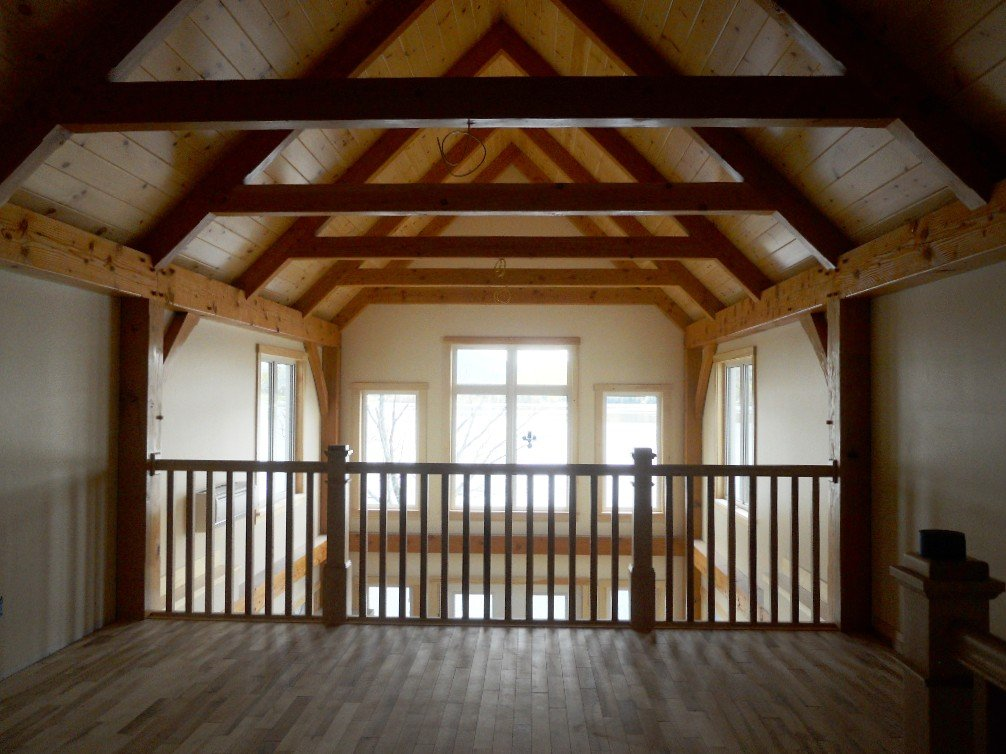 timber framing vs  post and beam construction