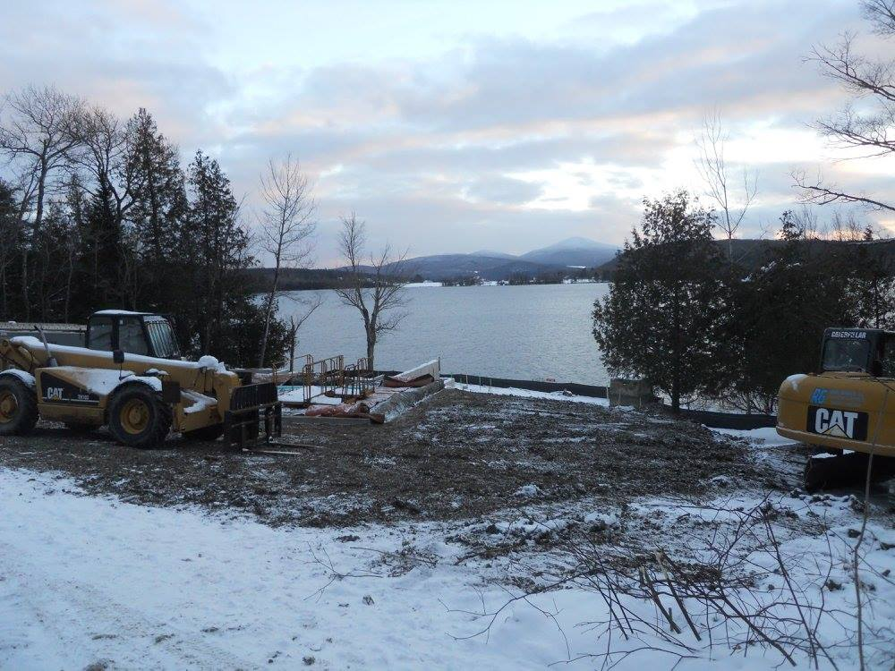 New Home Construction Echo Lake Vermont
