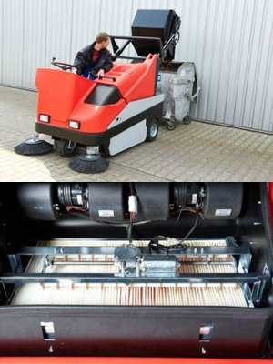 floor sweeping services tnq sweeping vehicle with sweeping brush
