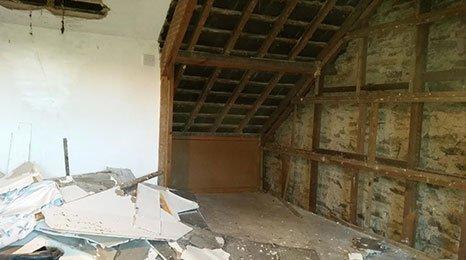 building renovation work in progress