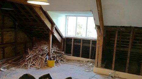 refurbishment work in progress