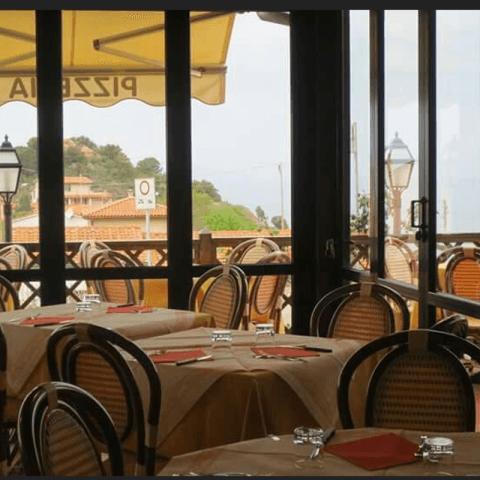 Ristorante sul Mare - Il faro - Marciana Marina - Isola d'Elba