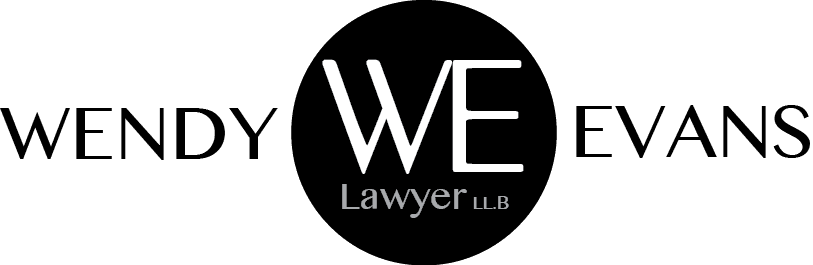 wendy evans lawyer logo
