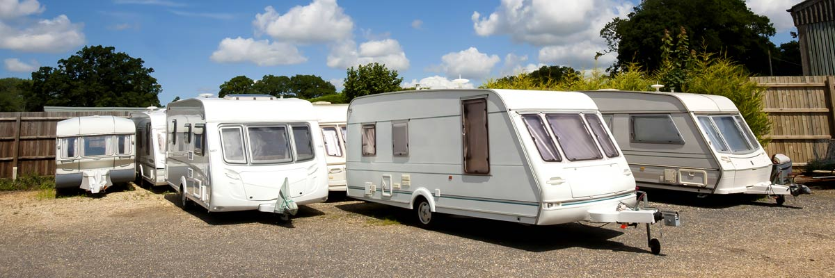 applied rv service caravans kept on the shed