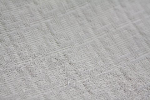 White quilted fabrics