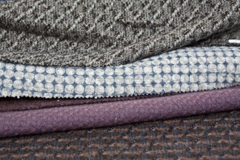 Assortment of fabrics