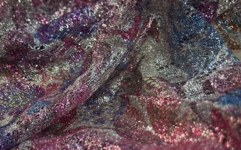 Woven floral fabrics
