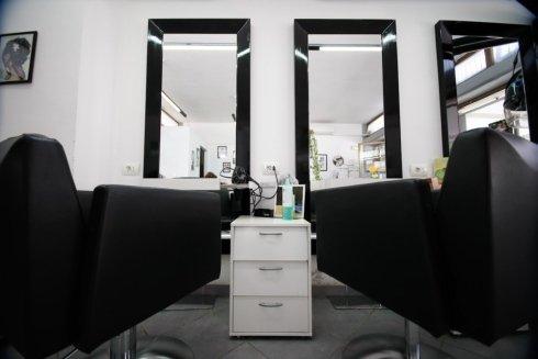 specchio, postazione