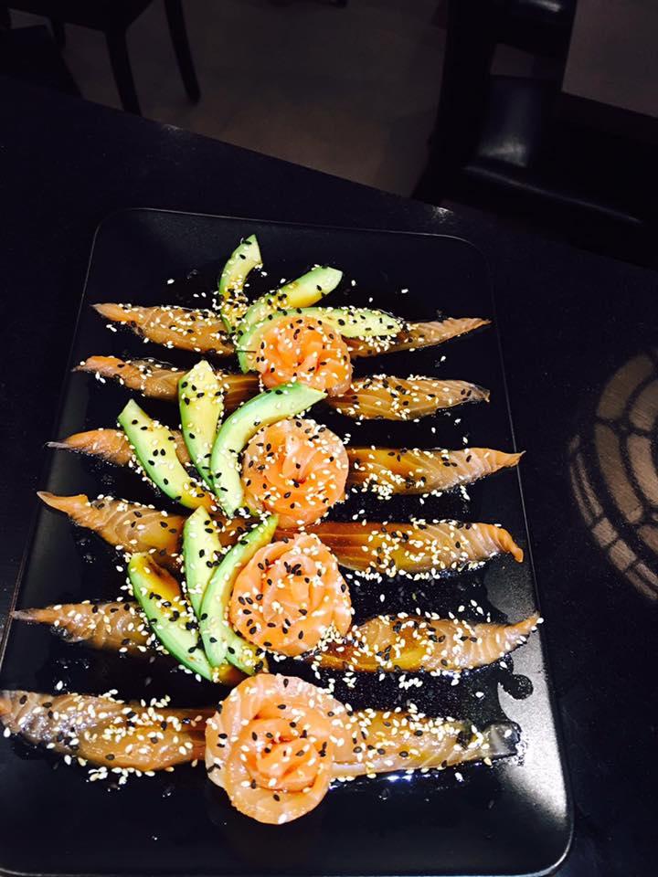 Piatto giapponese al Ristorante Giapponese Fujisan in Torino
