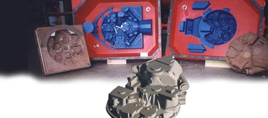 attrezzatura da fonderia per settore areonautico